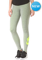 NIKE SPORTSWEAR Womens Leg-A-See-Logo carbon heather/volt