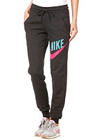 NIKE SPORTSWEAR Womens Relaxed Cuffed Pant black/pink force