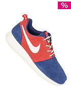 NIKE SPORTSWEAR Womens Rosherun Leather dark royal blue/natural-sandburst-natural