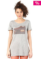 NIKE SPORTSWEAR Womens RU Airmax Photo S/S T-Shirt dark grey heather