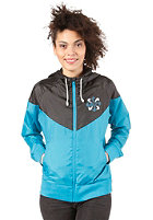 NIKE SPORTSWEAR Womens RU Pinwheel Windrunner Jacket neo turquoise/black