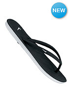 NIKE SPORTSWEAR Womens Solarsoft Thong II black/white-lt base grey
