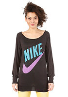 NIKE SPORTSWEAR Womens Sportswear LS Top black/neo turquoiseuoise