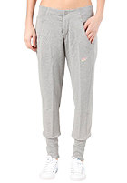 NIKE SPORTSWEAR Womens Street Sweat Pant dark grey heather/electric yellow