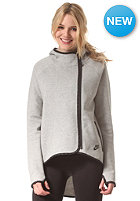 NIKE SPORTSWEAR Womens Tech Fleece Cape dk grey heather/black