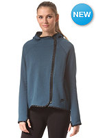 NIKE SPORTSWEAR Womens Tech Fleece Cape space blue/black