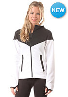 NIKE SPORTSWEAR Womens Tech Fleece Hooded Sweat black/white/black