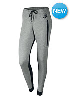 NIKE SPORTSWEAR Womens Tech Fleece Pant dk grey heather/black/black