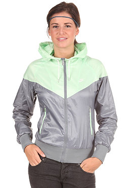 NIKE SPORTSWEAR Womens The Windrunner cool grey/ fresh mint