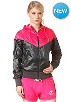 NIKE SPORTSWEAR Womens The Windrunner Jacket black/pink force/black