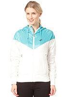 NIKE SPORTSWEAR Womens The Windrunner Jacket sail/sport turq/black