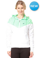 NIKE SPORTSWEAR Womens The Windrunner Jacket white/poison green/squadron blue