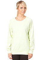 NIKE SPORTSWEAR Womens Time Out Crew Sweat lab green htr/sail