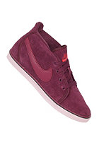 NIKE SPORTSWEAR Womens Toki Lite Premium bordeaux/sail-sunburst-black