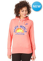NIKE SPORTSWEAR Womens Vintage Santa Monica Top wild mango htr/sail