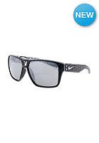 NIKE VISION Charger Sunglasses black/matte black grey w/silver flash lens