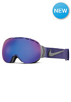 NIKE VISION Command Goggles dark raisin/magnet grey - dark smoke blue + pink ion
