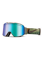 NIKE VISION Fade Goggles cargo khaki/umber - green ion + yellow red ion