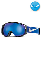 NIKE VISION Khyber Goggles game royal/black/white - dark smoke blue + yellow red ion