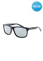 NIKE VISION Mdl 80 Sunglasses matte black grey w/silver flash lens