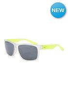 NIKE VISION Mojo Sunglasses matte crystal clear/metallic silver smoke w/super silver fla
