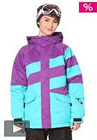 NIKITA Hurricane Jacket purple magic/scuba blue