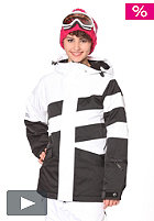 NIKITA Hurricane Jacket white/black