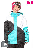 NIKITA Jumbo Jacket scuba blue/black/white