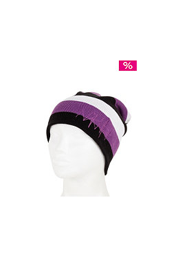 NIKITA Nammu Beanie black/white/purple magic