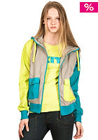 NIKITA Womens Angler Jacket lime punch
