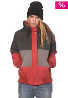 NIKITA Womens Ararat Jacket pirate black/smoked peral/rosewood