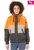 NIKITA Womens Ararat Jacket sudan/brown/pirate black