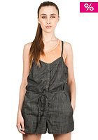 NIKITA Womens Badger Denim Jumpsuit coal