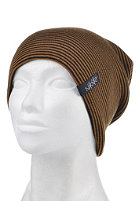NIKITA Womens Basic Bee Beanie jet black/spicy mustard
