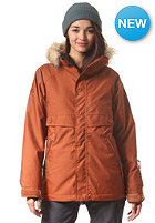 NIKITA Womens Brave Jacket gingerbread/autumn le