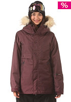NIKITA Womens Brave Jacket wine/raven