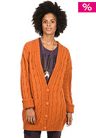 NIKITA Womens Crow Knit Jacket bombay brown