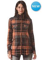 NIKITA Womens Delano Shirt autumn le/jet black/c