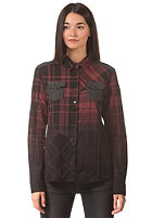NIKITA Womens Dempo Shirt jet black/rouge