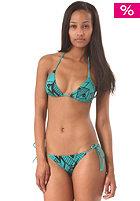 NIKITA Womens El Capitan Triangle Bikini tropical green