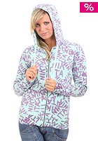 NIKITA Womens Fashionable Hooded Zip Sweat aqua