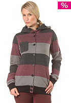 NIKITA Womens Frazier Hooded Jacket wine/castle rock