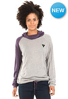 NIKITA Womens Garfield Hooded Sweat melange grey/mysterioso