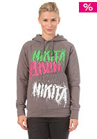 NIKITA Womens Gasherbrum Hooded Sweat smoked pearl