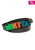 NIKITA Womens Geo Belt black