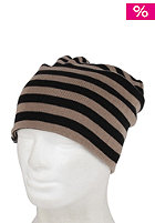 NIKITA Womens Hanang Reversible Beanie jet black/moon rock