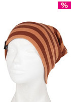 NIKITA Womens Hanang Reversible Beanie rustic brown/sandstone