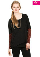 NIKITA Womens Harrah Top jet black/arabian spice