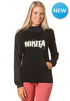 NIKITA Womens Minnow Hooded Sweat jet black