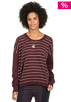 NIKITA Womens Raven Knit Sweat wine/snow white